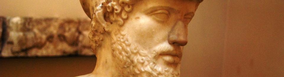 Busto de Pericles conservado en el Museo Británico (Foto - Luis García Casas)