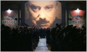 Fotograma de `1984` dirigida por Michael Radford en 1984 y basada en la novela homónima de George Orwell