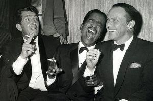 Dean, Sammy y Frank. En su salsa