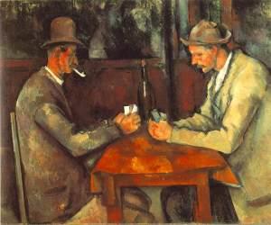 Los jugadores de cartas (Paul Cézanne, 1895)