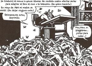 Vñeta de Maus, Art Spiegelman.